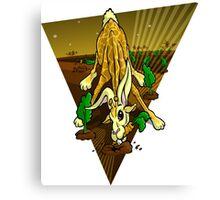 Mutant Zoo - Girabbit Canvas Print