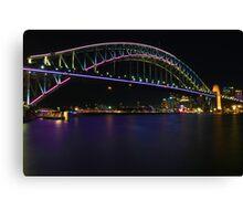 Coloured Bridge  Canvas Print