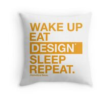 graphic designer tees Throw Pillow
