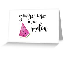 Youre One in a Million Greeting Card