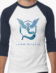 Pokemon Go - Team Mystic Men's Baseball ¾ T-Shirt
