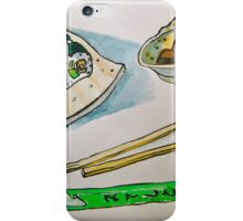 North Hobart Sushi iPhone Case/Skin