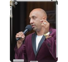 Adil Ray A presenter from the BBC's Asian Network In celebration of the end of Ramadan iPad Case/Skin