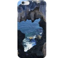 Cliff Monster iPhone Case/Skin