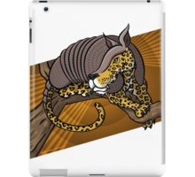 Mutant Zoo - Jaguarmadillo iPad Case/Skin