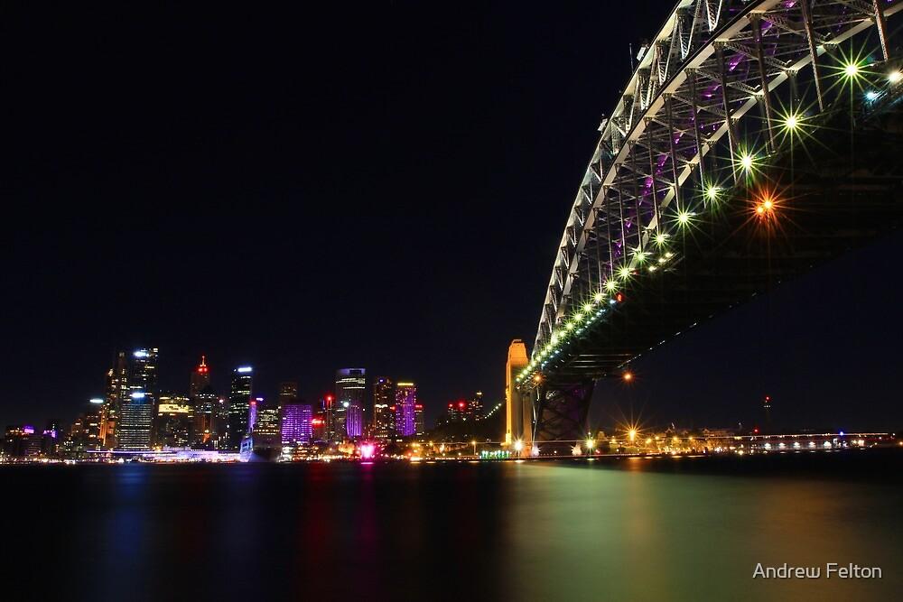 Sydney City & Bridge by Andrew Felton