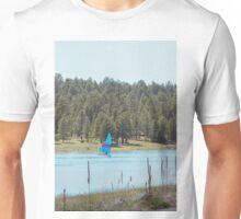 Boat on Lake Mary Unisex T-Shirt