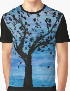 tree at midnight Graphic T-Shirt