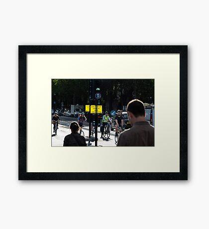 Alone River Thames3 Framed Print