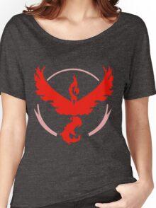 Team Valor Logo (Pokémon GO) Women's Relaxed Fit T-Shirt