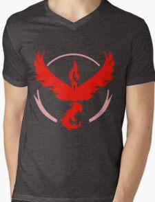 Team Valor Logo (Pokémon GO) Mens V-Neck T-Shirt