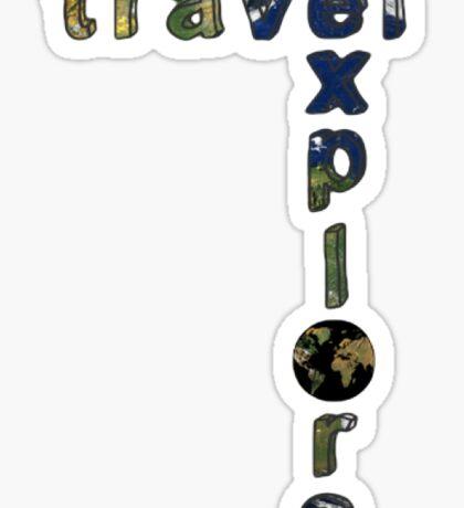 travel-explore Sticker