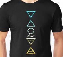 FOUR ELEMENTS PLUS ONE V  - california chrome Unisex T-Shirt