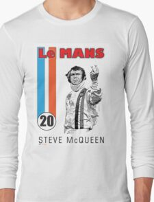 LeMans Steve McQueen Long Sleeve T-Shirt