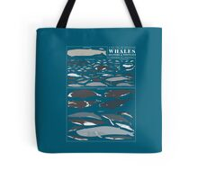 A SEA FULL OF CETACEANS: WHALES, DOLPHINS, AND PORPOISES Tote Bag