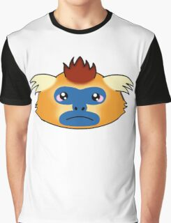 Golden snub-nosed monkey Graphic T-Shirt