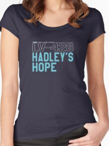 Hadley's Hope LV426 Colony Women's Fitted Scoop T-Shirt