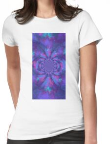 kaleidoscopic Trance V2 Womens Fitted T-Shirt