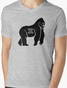 Harambe - Gorilla Mens V-Neck T-Shirt