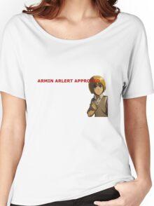 Armin Arlert Approved Women's Relaxed Fit T-Shirt