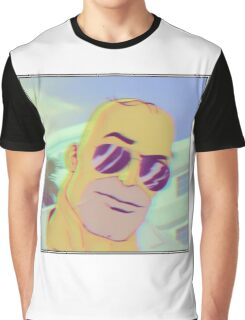 Handsome Homer Graphic T-Shirt