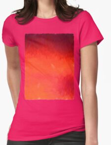 Fabulous Sunset Womens Fitted T-Shirt