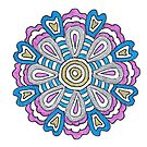 July's Mandala by Maryanne Lawrence
