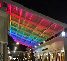 Rainbow at the Mall by Gilda Axelrod