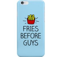 fries before guys - in living color iPhone Case/Skin
