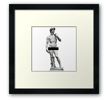 David Censored  Framed Print