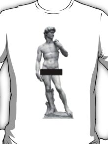 David Censored  T-Shirt