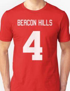 Beacon Hills Jersey #4 Unisex T-Shirt