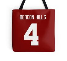Beacon Hills Jersey #4 Tote Bag