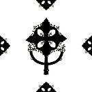 Ethiopian Cross. Black by Ethiohahu