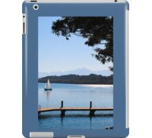 Sailing by in the Blue iPad Case/Skin