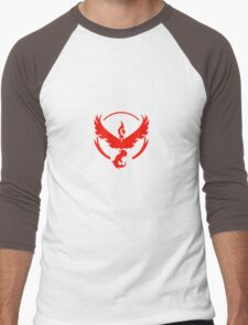 Team Valor (Pokemon Go) Men's Baseball ¾ T-Shirt