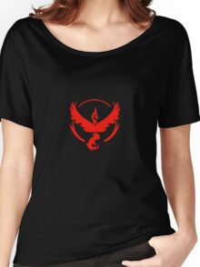 Team Valor (Pokemon Go) Women's Relaxed Fit T-Shirt