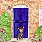 Country cottage Yorkie by LiseRichardson