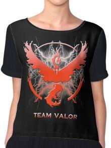 Pokemon Go - Team Valor Chiffon Top