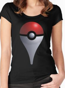 Pokemon Go - Maps Icon Women's Fitted Scoop T-Shirt