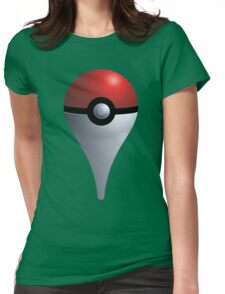 Pokemon Go - Maps Icon Womens Fitted T-Shirt