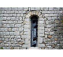 Incomplete window Photographic Print