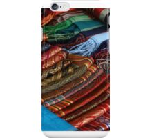 Silken collage - Ban Xang Khong, Luang Prabang iPhone Case/Skin