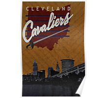 Cleveland Cavaliers Poster Poster