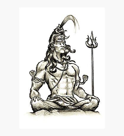 Shiva design Photographic Print