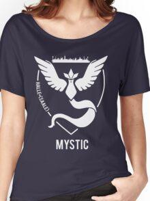 Pokémon GO: Team Mystic - Halle (Saale) Women's Relaxed Fit T-Shirt