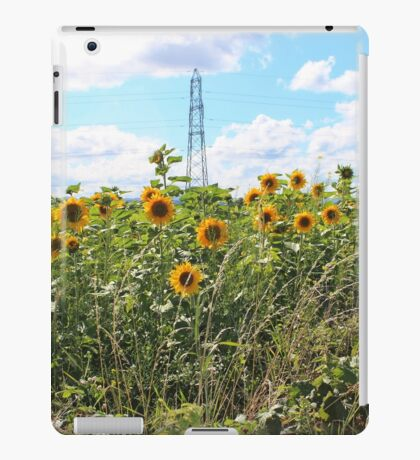 Sunflower Crop iPad Case/Skin