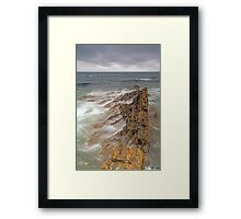 Banff Coastline Framed Print
