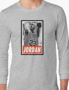 (BASKETBALL) Michael Jordan Long Sleeve T-Shirt