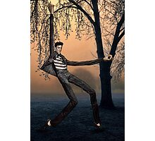 Slender Man Elvis Photographic Print